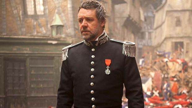 Let the world know ... Russell Crowe - pictured in <em>Les Miserables</em> - is focused on authenticity.
