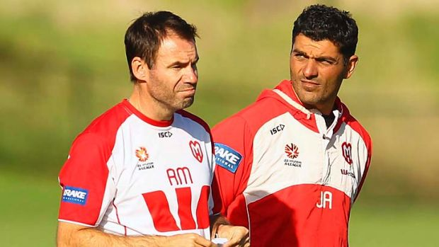Vanguard … assistant and head coach at the Heart, Ante Milicic and John Aloisi.