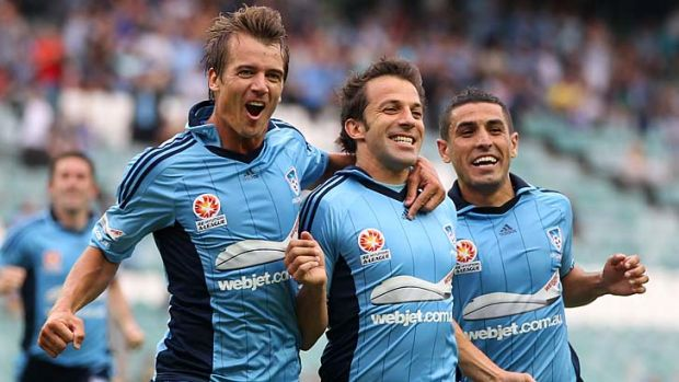 Sydney FC can't get enough of him … Alessandro Del Piero.