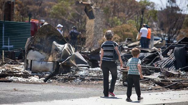 Emotional devastation ... families and individuals in close proximity to bushfire-prone areas must be mentally prepared too.