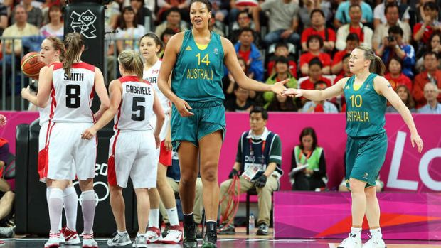 Kristi Harrower, right, has criticised Basketball Australia.