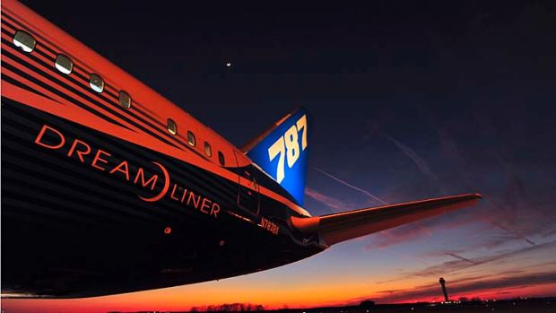 Bad dreams: The 787 Dreamliner.