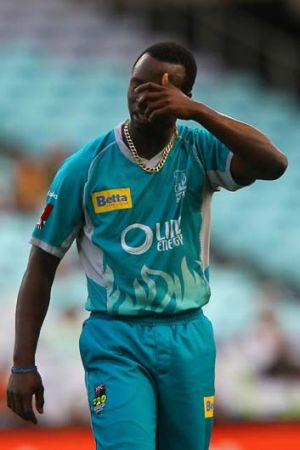 Kemar Roach... relieved to perform on the big stage after snaring just two wickets at an average of 88 in the seven ...