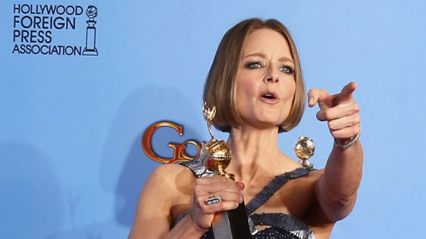 Talking in riddles ... Jodie Foster's confusing speech left us with more questions than answers.