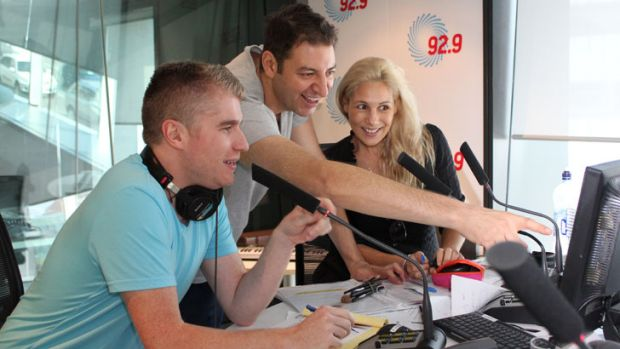 92.9's breakfast team trio are all set to leave the Perth station.