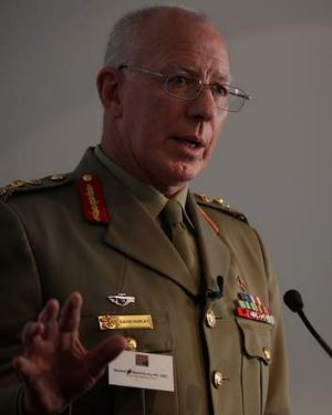 Chief of the Defence Force General David Hurley.