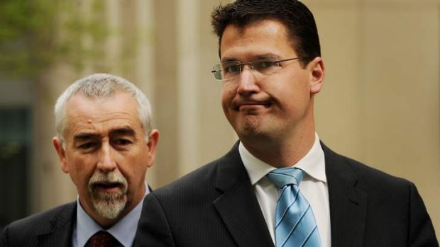 Speculation has been growing that Canberra Liberals' leader Zed Seselja, right, would take a tilt at Gai Brodtmann's ...