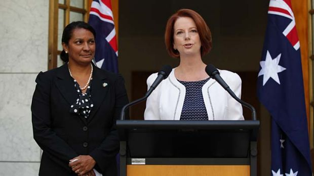 Prime Minister Julia Gillard has asked Nova Peris to seek preselection for Labor for the Senate in the NT.