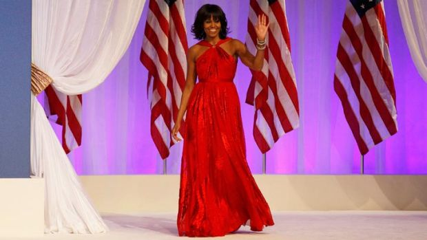 Michelle Obama wears Jason Wu to the 2013 inaugural ball - repeating her support for the young designer after chosing to ...
