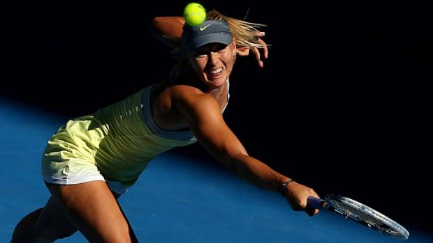 Sharapova has conceded a total of just nine games in five matches, it beats the previous record of 12 set by Monica ...