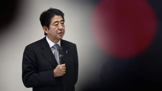 Shinzo Abe, Japan's new Prime Minister.