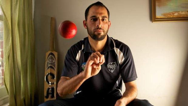 Pakistani asylum-seeker Fawad Ahmedwill play for the Prime Minister's XI in Canberra.