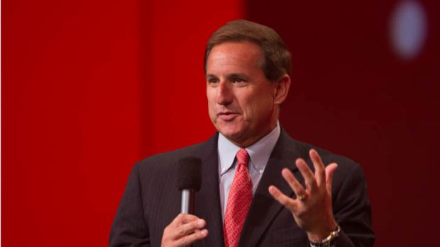 Oracle president Mark Hurd.