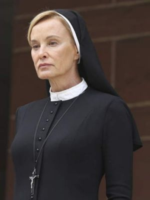 The evil nun in charge likes to torture patients and wear sexy lingerie.