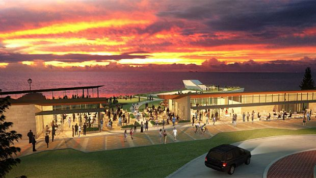 Artist impression of the City Beach redevelopment.