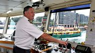 Ferry Master Ron Zacher will be racing in the Australia Day ferry race on Lady boat Charlotte.Photo: Edwina Pickles. ...