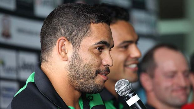 Still hurting ... Greg Inglis.