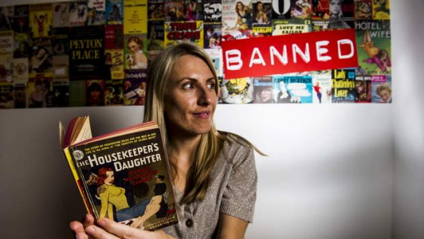 Exhibition curator, Tracey Clarke, takes a look at 'The Housekeeper's Daughter', at the new exhibition, 'Banned' at the ...
