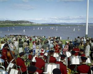 A MOMENT IN CANBERRA'S HISTORY: The opening of Lake Burley Griffin in 1964.
