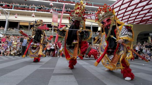 Chinese migration has added to Brisbane's melting pot.