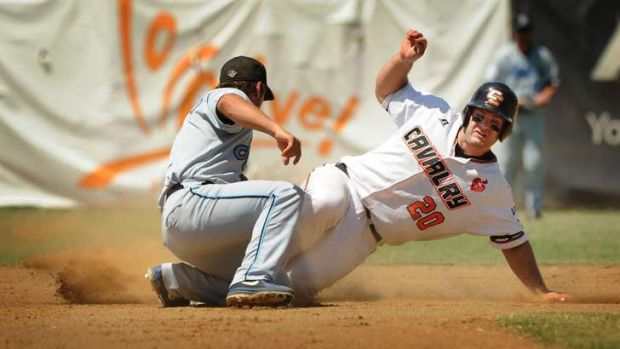 The Canberra Cavalry need one win from their series against Adelaide to clinch a play-off berth.