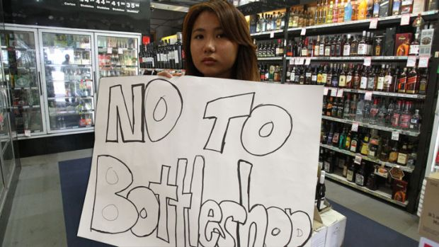 The number of neighbourhood liquor outlets has been linked to harmful drinking behaviour.