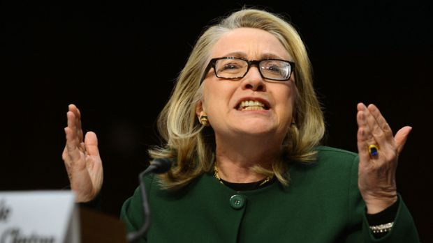 Straight talker: Hillary Clinton took full responsibility for the deaths at the Benghazi consulate, but was also ...