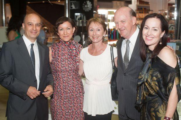 Stefano Carboni, Maria Yakimov, Nikki Day, John Day and Fiona Kalaf.