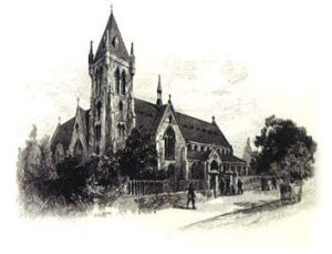 A sketch of the completed cathedral.