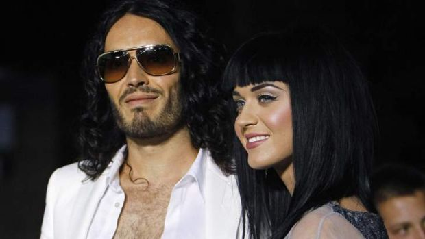 Did they work on it enough? Russell Brand and Katy Perry.