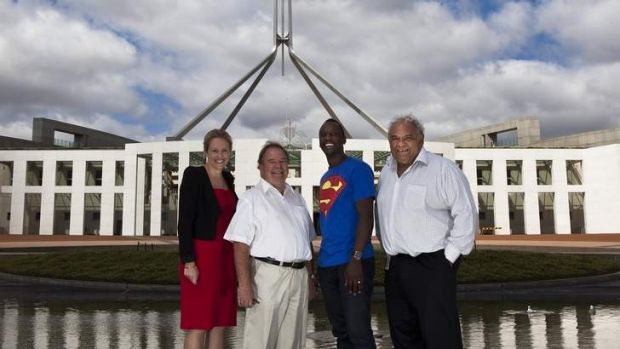 Julie McKay (Young Australian of the Year 2013 ACT finalist), Dr Jim Peacock (Senior Australian of the Year 2013 ACT ...