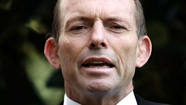 Too negative ... Tony Abbott will start a mini election campaign to reposition his image before parliament resumes.