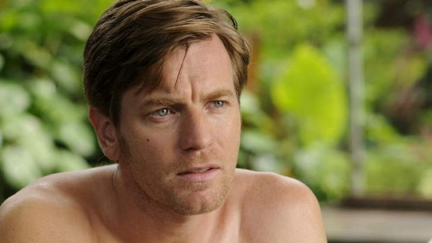 Intimate drama ... Ewan McGregor plays a father caught up in the 2004 Boxing Day tsunami in The Impossible.