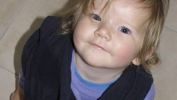 Georgina Cockburn died when her father accidentally reversed over her when backing his builder's trailer into the garage.