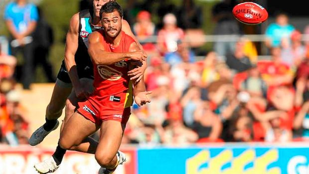 Dumped ... Karmichael Hunt is no longer part of the Gold Coast Suns leadership group.