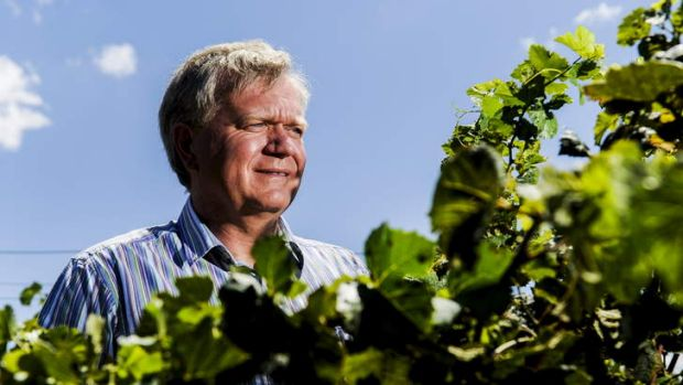 Despite his busy schedule both in Australia and overseas, Brian Schmidt makes the time for his Maipenrai vineyard at Sutton.