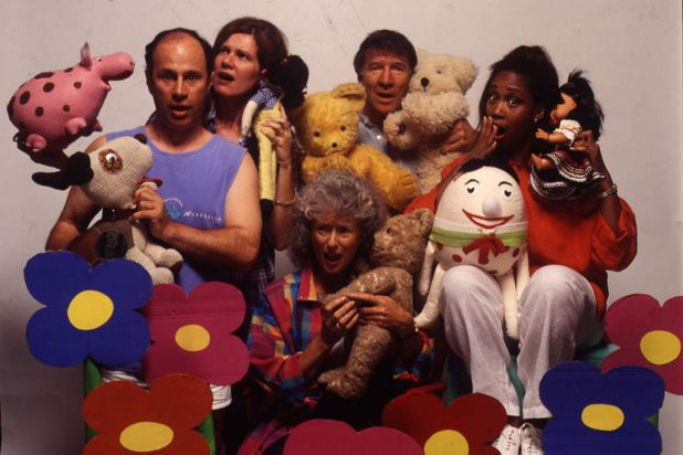 A selection of Play School presenters.