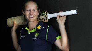 Class act: Meg Lanning is looking forward to the World Cup.