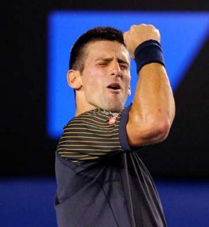 """""""I have a great feeling about myself on the court at the moment"""" ... Novak Djokovic."""