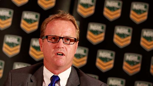 Dave Smith ... NRL Chief Executive.