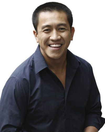 Comedian and author Anh Do.