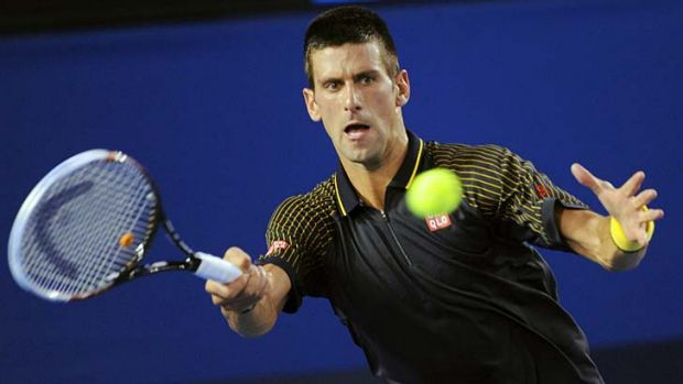 Novak Djokovic has powered into the Australian Open men's final.