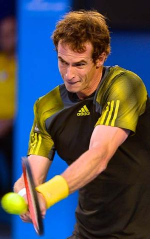 Andy Murray (above) is ready for anything he'll face from the defending champion.