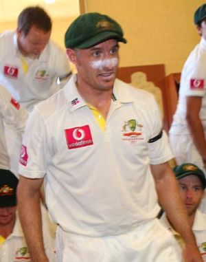 All class ... Mike Hussey is excited about the future of the Test team.