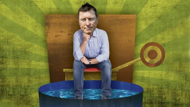 Step right up ... You could  knock Raiders coach David Furner into a dunk tank at Northbourne Oval on Saturday, February 2.