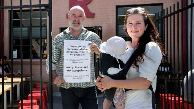 Ruby Nolan was asked to leave when she took her baby to Preston's Raccoon Club. Owner Robert Price stands by the venue's ...
