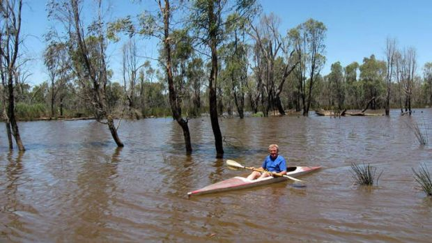 John Pettigrew on Loch Garry, near Shepparton, will be kept from entering the wetlands at certain times during the ...