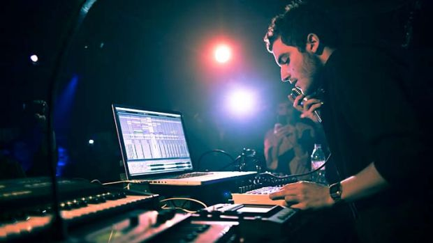 Melting pot: Nicolas Jaar is about to flood the Laneway Festival with his 'blue wave'.