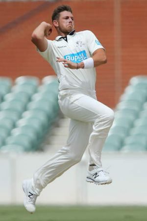 Quota: James Pattinson allowed only 24 overs.