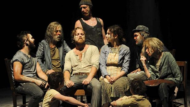 Passionate and sincere ... Sydney Theatre Company's <i>The Secret River</i>.